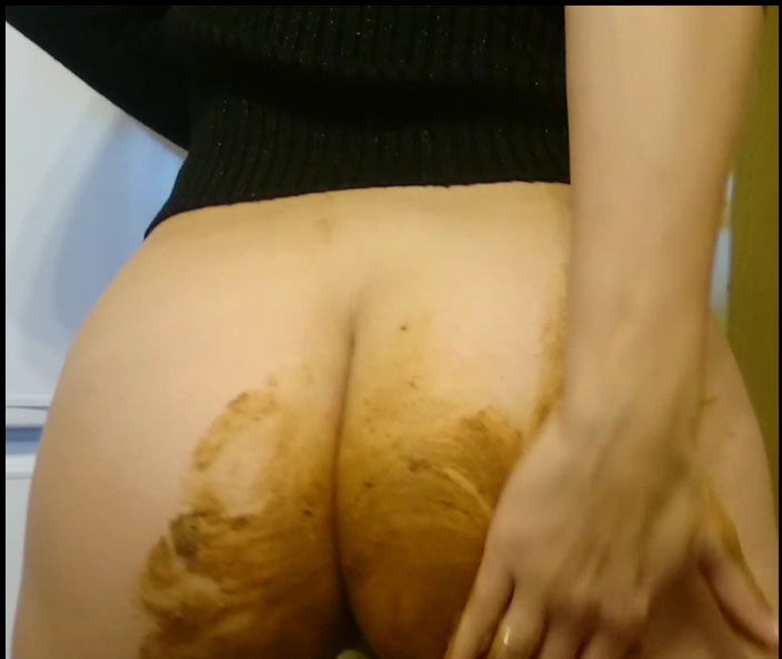 Brown wife FullHD 1080p Extreme! Shiting in the Public Hall [Poop Videos, Scat, Smearing, Panty, Jean Pooping]