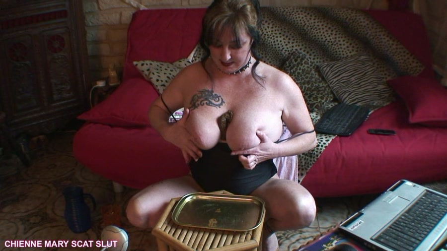 Chienne Mary French Scat Slut HD 720p Webcam Scat Show [Scat, Poopping, Shitting, Solo, Big pile, New scat]