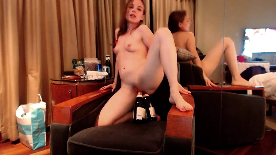 LittleMissKinky FullHD 1080p Double Bottle Fuck [Solo, Scat, Shitting, Scatting, Extreme, Defecation]