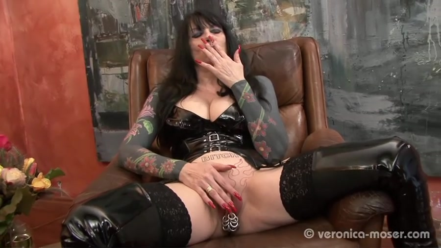 Veronica Moser SD The Bitch 2 [Femdom Scat, Shitting, Scatting, Domination Scat, Scat Porn, Scat Humiliation, Face Sitting, Germany, Smoking]