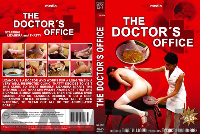Tatthy, Lizandra DVDRip MFX-1243 The Doctor's Office [Enema, Scat, Smearing, Efro, Pee, Farting, Poop, Defecation, Extreme Scat, Scatology, Brazil]