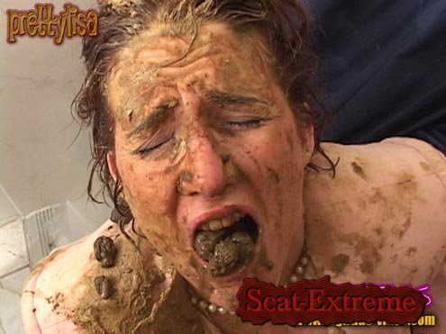 Models: Prettylisa , various males SD SHITFREAKS [Scat, Piss, Human Toilet, Humiliation, Fisting, Gaping, Toys]