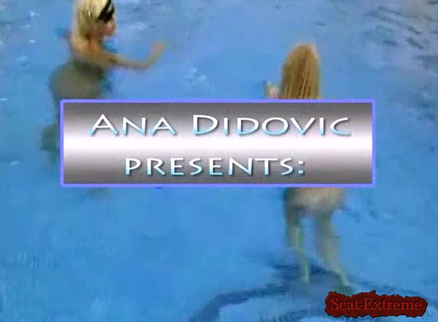 Ana Didovic SD Two Girls One Turd [Solo Scat, Shitting, Scatting, Shitting Girls, Poop Smear, Dirty Anal, Netherlands]