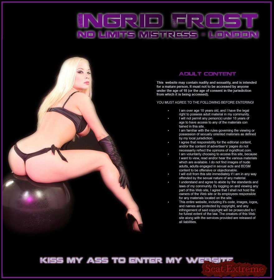 Ingrid Frost SD No Limits Mistress [United Kingdom, Femdom Scat, Shitting, Scatting, Domination Scat, Scat Porn, Scat Humiliation]