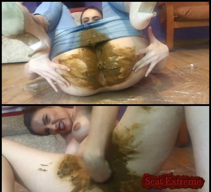 DianaSpark FullHD 1080p Another good Shitting in my jeans [Smearing, Shit In Pantyhose, Jean Pooping, Pooping Jeans, Solo, Amateur]
