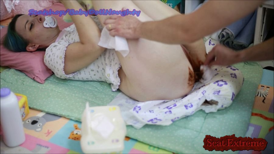 BabyDollNaughty FullHD 1080p Daddy Changes me [Efro, Pee, Farting, Poop, Defecation, Extreme Scat, Scatology, Amateur]