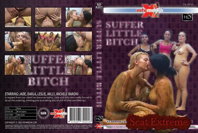Jade, Darla, Leslie, Milly, Michele Baroni HDRip [SD-4201] Suffer Little Bitch [Scat, Piss, Lesbian, Domination, Brazil]