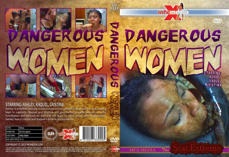 Ashley, Raquel, Cristina HDRip SD-3229 Dangerous Women [Scat, Piss, Lesbian, Vomit, Domination, Brazil]