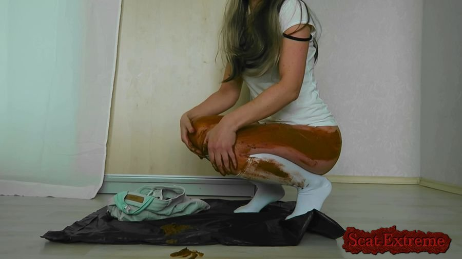 SexyAss FullHD 1080p Sexy ass jeans poop and smearing [Fouling, Soiling, Clyster, Solo, Piles, Crap, Do A Crap]