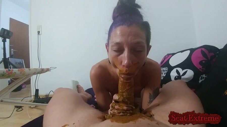 KV-GIRL FullHD 1080p Mouth full of shit and cock blown [Germany, Scat, Extreme Scat, Scatology, Sex Scat, Blowjob]