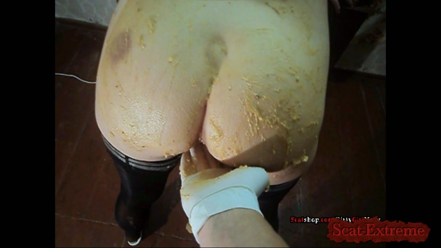 DirtyGirlMary FullHD 1080p Corn shit on my body [Poop Videos, Smearing, Efro, Pee, Farting, Poop, Extreme Scat, Amateur]