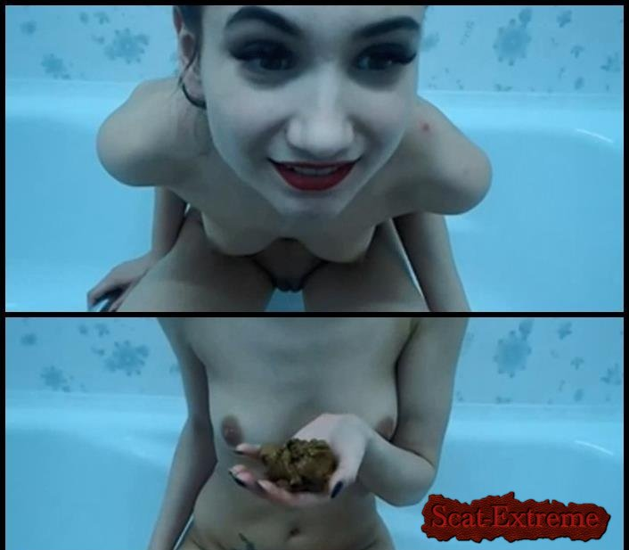 Dirty cam girls SD Russian girl shit play in bath [Solo, Shitting, Scatting, Shit Masturbation, Teen, Pooping Girls]