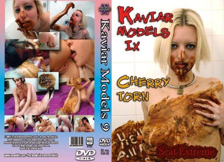 Cherry Torn, Estefania DVDRip Kaviar Models 9 [Shitting Girls, Amateur, Lesbians, Germany]