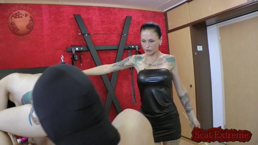 Leatherdyke HD 720p Femdom Scatting [Femdom, Scatting, Latex, Domination]