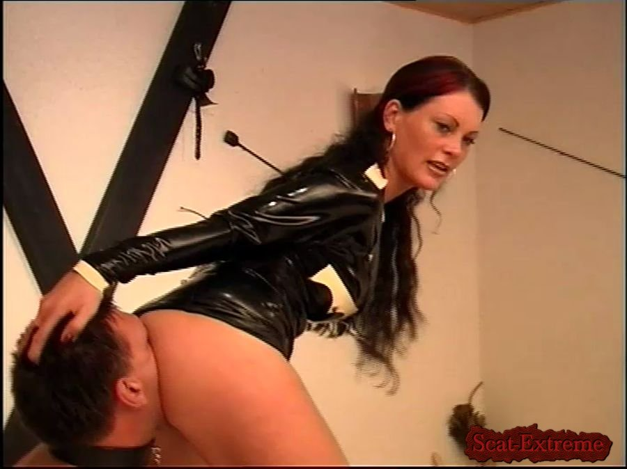 Miss Cheyenne, Jean-Louis DVDRip Lebenslaenglich Teil 1 [Femdom, Shitting, Scatting, Domination, Scat Porn, Humiliation, Face Sitting, Toilet Slavery, Germany, Latex]