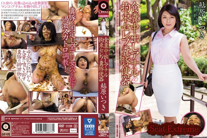 Ayuhara Itsuki DVDRip OPUD-227 Anal Pies Coprophagy Restraint Celebrity Shit Pig Toilet Juri Ayuhara [BDSM, Anal, DP, Creampie, Solowork, Married Woman, Scatology, Defecation, Japan]