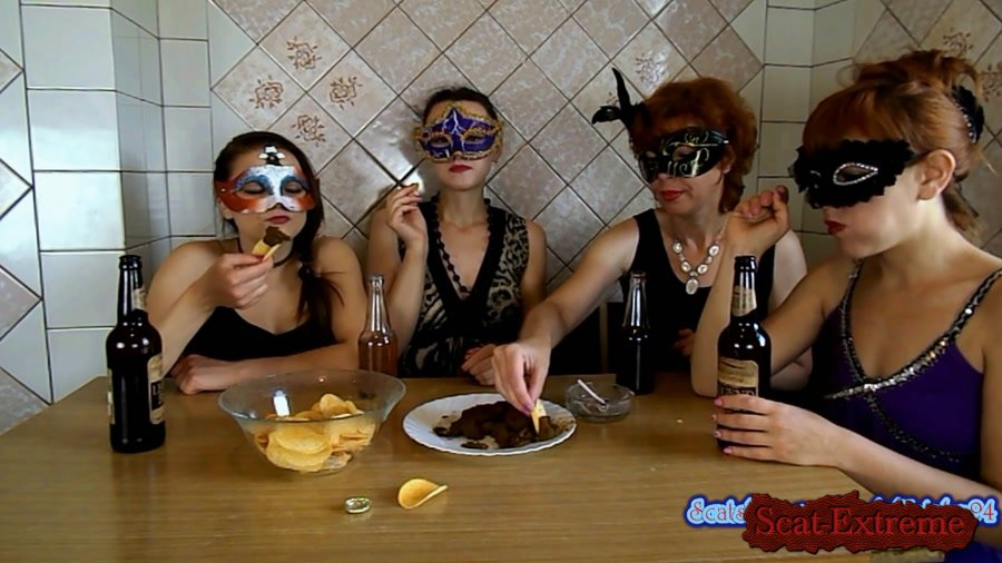 ModelNatalya94 FullHD 1080p The morning Breakfast the four girls [Defecation, Extreme Scat, Scatology, Threesome, Amateur, Milf]