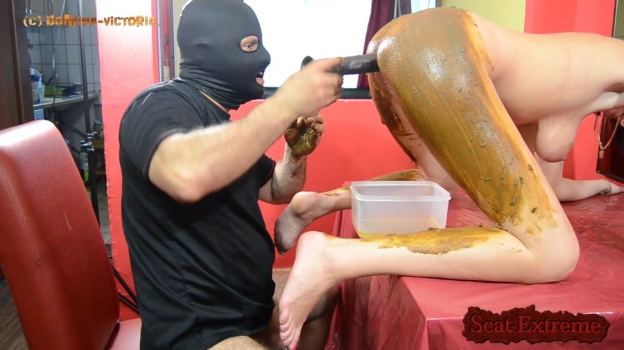 Domina-Victoria FullHD 1080p On the table [Scat, Piss, Germany]