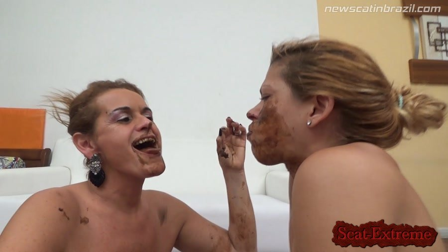 Chris, Diana FullHD 1080p Very anxious she will meet an old friend Shit [Scat, Piss, Lesbian, Vomit, Brazil, Domination]