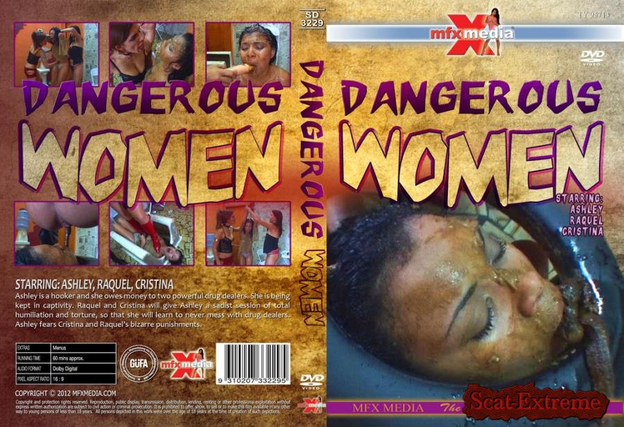 Ashley, Raquel, Cristina HD 720p SD-3229 Dangerous Women [Scat, Piss, Lesbian, Vomit, Domination]