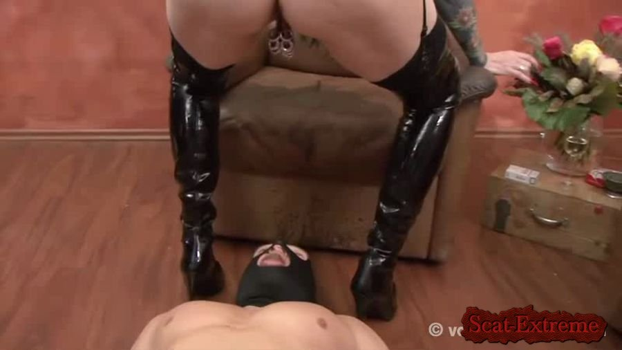 Veronica Moser SD VM23 - THE BITCH [Scat, Piss, Human Toilet, Fetish, Mature, Extreme, Masturbation, Humiliation, Femdom]