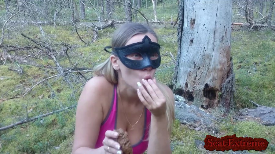Brown wife FullHD 1080p Unity with nature [Extreme Scat, Scatology, Solo, Outdoor]