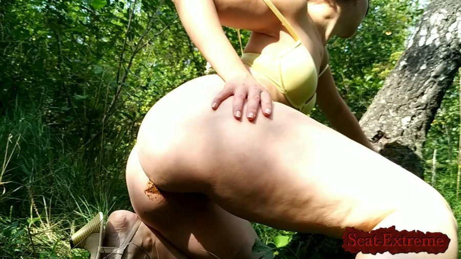 nastygirl FullHD 1080p Hot striptease poo and pee in park [Outdoor, Scat, Efro, Pee, Farting, Poop, Defecation, Solo]