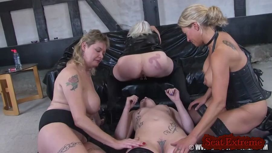 Betty, Molly, Monalisa, Sexy HD 720p OUR OF A KIND [Scat, Pissing, Lesbian, Human Toilet, Masturbation, Humiliation]
