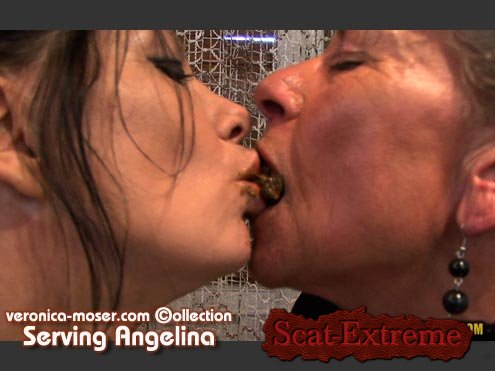 Veronica Moser, Angelina HD 720p VM44 - SERVING ANGELINA [Shitting Girls, Amateur, Lesbians, Smoking, Mature]