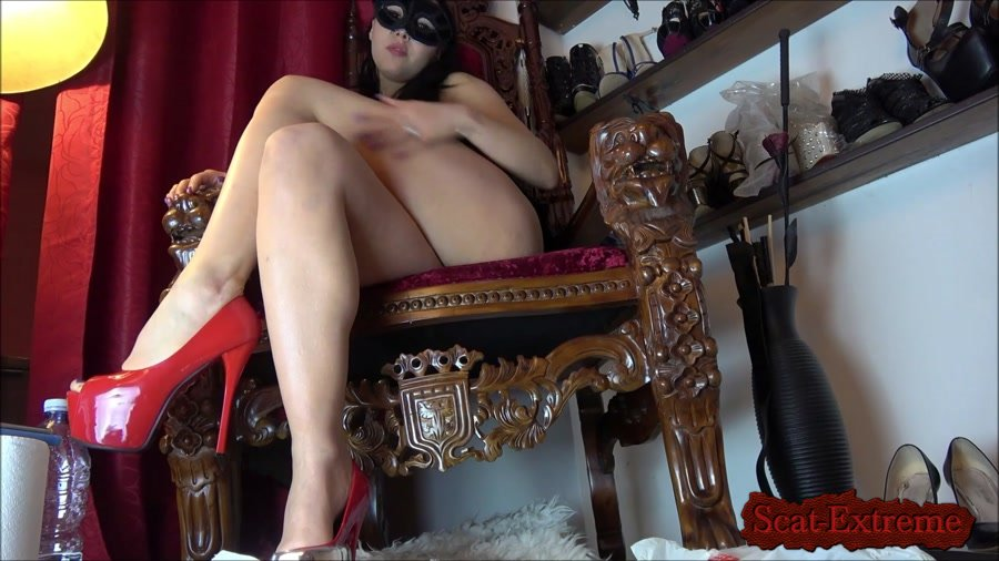 Mistress Gaia FullHD 1080p A special treat for you [Shitting, Scatting, Domination, Solo, Humiliation]