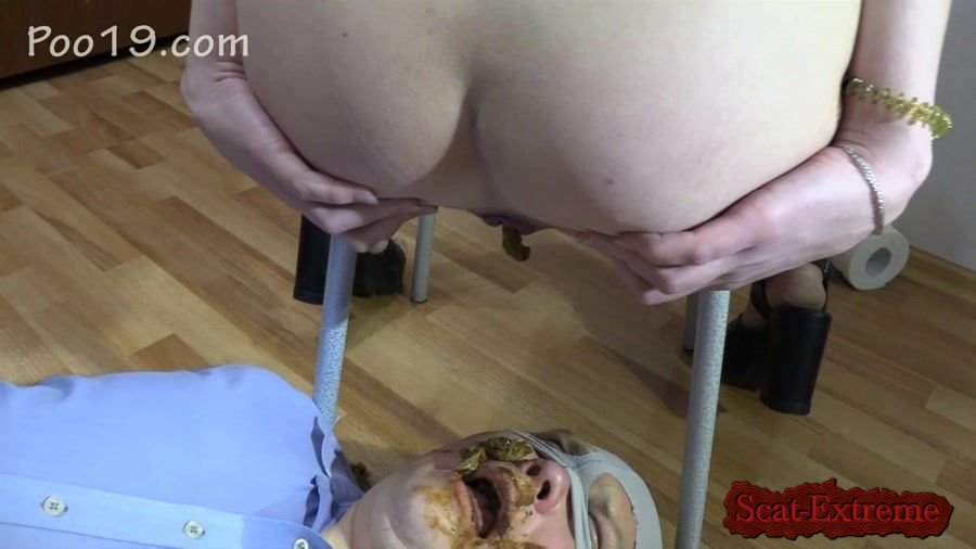MilanaSmelly HD 720p Mr small dick! Female shit eater [Femdom, Shitting, Scatting, Domination, Scat Porn, Humiliation, Face Sitting]