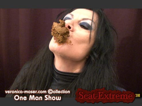 Veronica Moser HD 720p VM65 - ONE MAN SHOW [Solo, Shitting, Scatting, Masturbation, Latex, Mature, Eating, Toys]