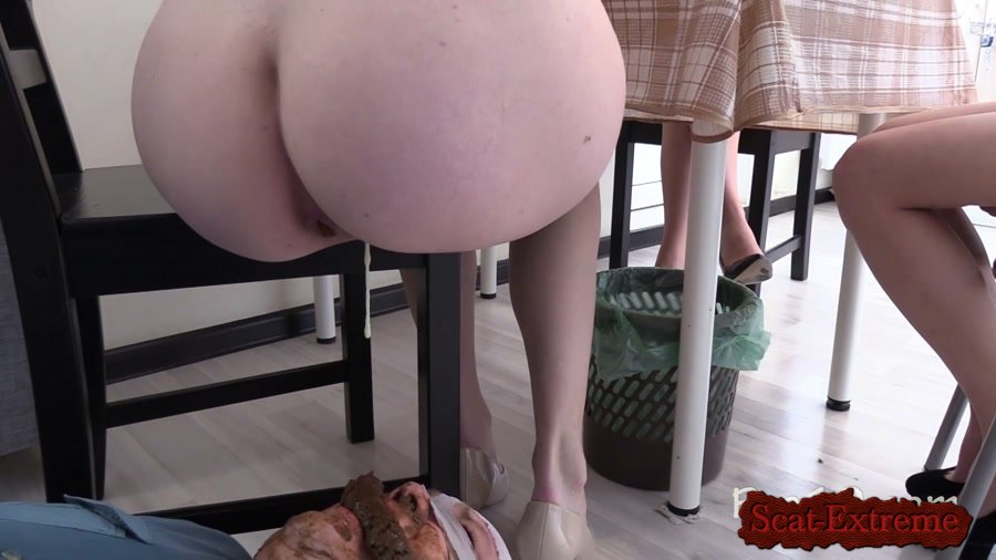 MilanaSmelly FullHD 1080p Tea and Chocolate for the toilet slave [Femdom, Poop, Defecation, Domination, Scat Porn, Humiliation, Face Sitting, Toilet Slavery]