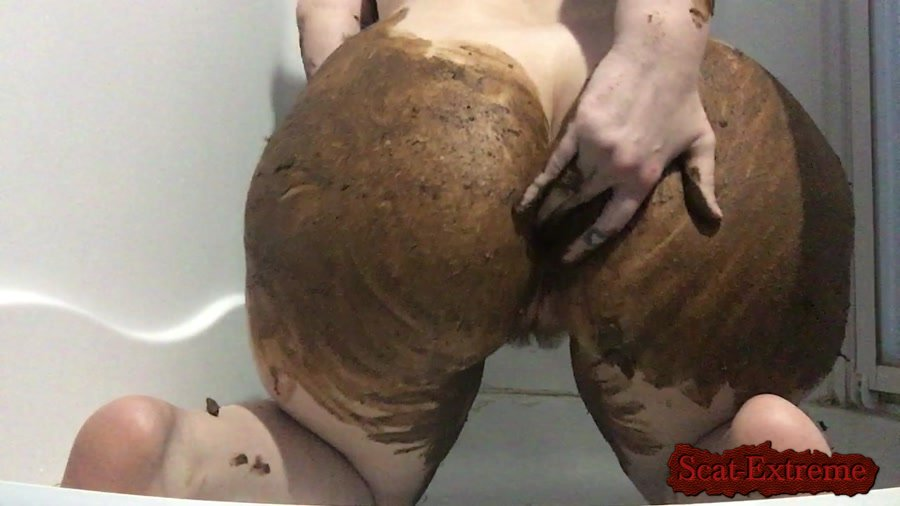 ChubbiBunni HD 720p So Horny Smear [Piss, Efro, Pee, Farting, Poop, Defecation, Scatology, Solo]