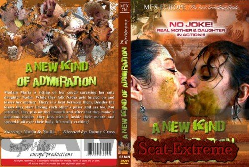 Maria, Nadja SD MFX-746 A New Kind Of Admiration [Scat, Lesbian, Smearing, Pissing]