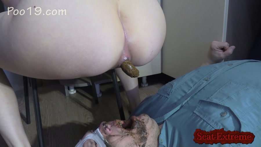 MilanaSmelly FullHD 1080p Lick my feet and swallow my shit [Femdom, Poop, Defecation, Extreme Scat, Domination, Humiliation, Face Sitting, Toilet Slavery]