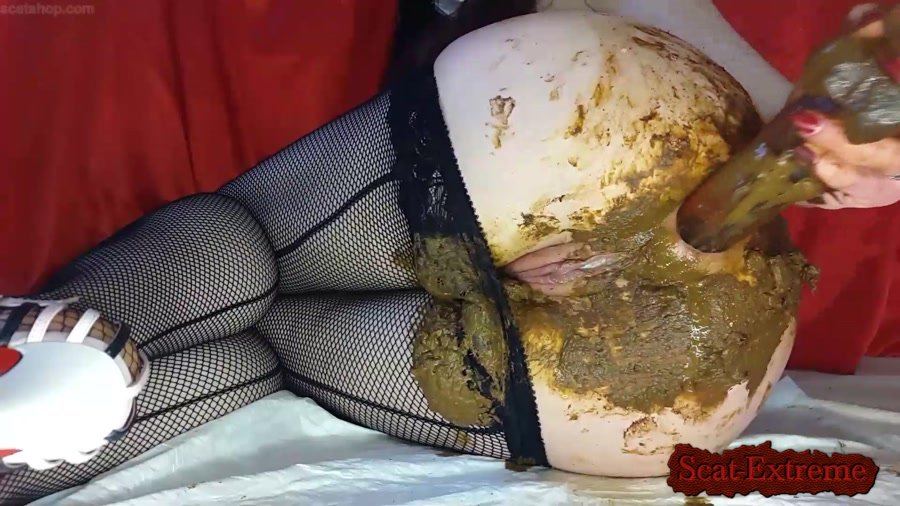 Anna Coprofield FullHD 1080p I will Ruin these Beautiful Tights Anyway Full compressed version [Defecation, Extreme Scat, Scatology, Solo]
