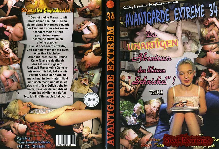 Schnuckel Bea, Ricky Tzatzicky DVDRip Avantgarde Extreme 34 [Oral, Anal, Piss, Scat, Germany, Blowjob, Sex Shit, Eating, Kaviar Scat, Scat Fuck, Anal, Amateur]