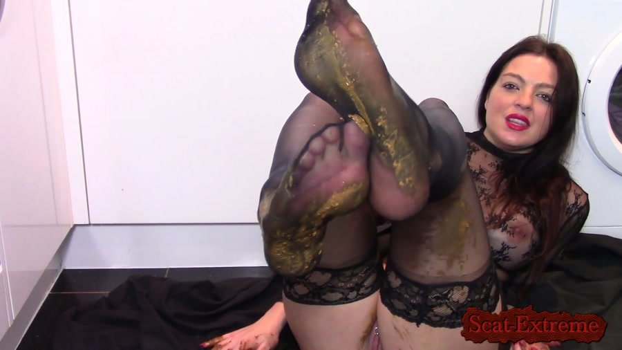 evamarie88 FullHD 1080p Leather Boot Scat Worship [Farting, Poop, Defecation, Extreme Scat, Scatology, Milf, Solo]