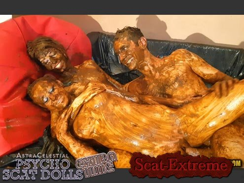 Jane, Sandy, 1 male HD 720p ASTRACELESTIAL PSYCHO SCAT DOLLS EXTRATIME [Scatology, Sex Scat, Blowjob, Sex Shit, Eating, Group, Scat Fuck, Anal, Amateur, Domination]