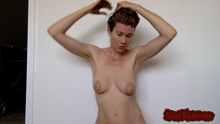 nastymarianne HD 720p Smearing my hair after my shower [Milf, Defecation, Extreme Scat, Scatology, Amateur, Solo]