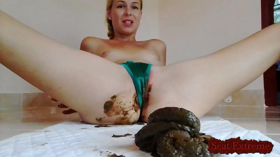 Giant Poo In Satin Thong, Intense Orgasm, Desperation HD 720p Naked Strong Stream Peeing In Doggy Desperatio [Poop, Defecation, Extreme Scat, Scatology, Solo]