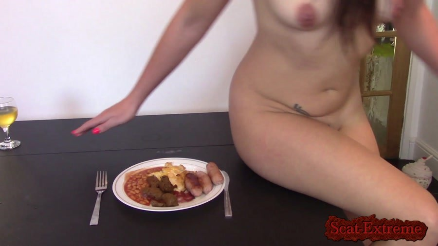 evamarie88 FullHD 1080p Breakfast is Served [Eating, Shit, Solo, Poop, Defecation, Extreme Scat, Scatology, Milf]