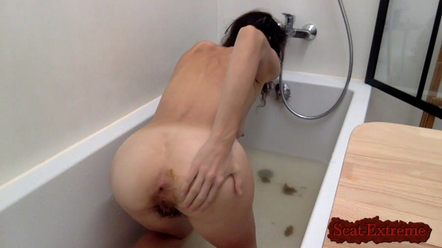 nastymarianne HD 720p Bathing with my shit [Scatting Girl, Shitting Ass, Solo, Shitting Girls, Amateur]