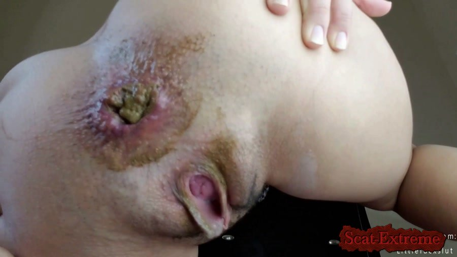 littlefuckslut FullHD 1080p Moaning Shit, Anal, & Tit Smear [Defecation, Scat, Scatology, Solo]