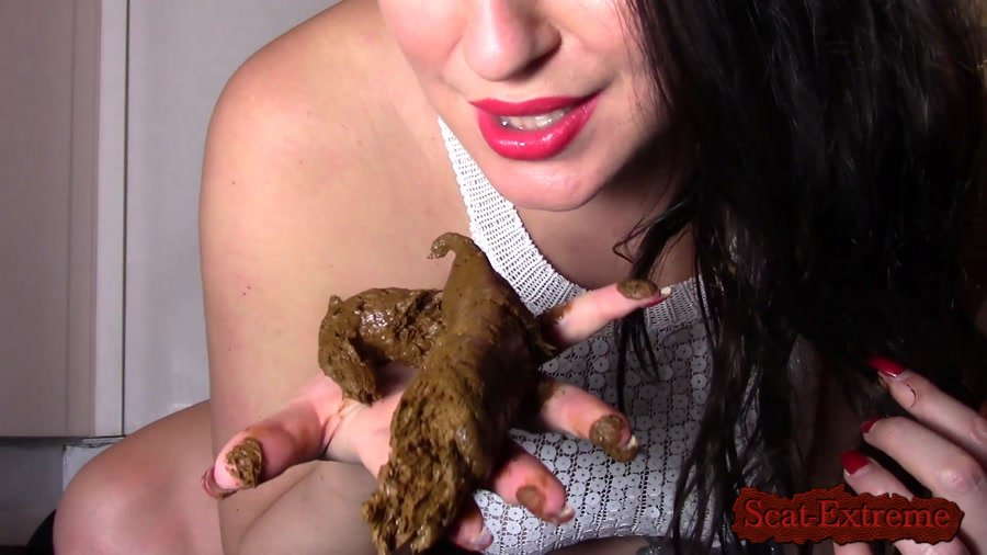evamarie88 FullHD 1080p Licking My Giant Log [Poop, Extreme Scat, Scatology, Solo]