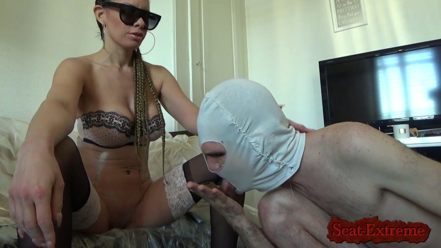 Lila FullHD 1080p Shit in the hands [Femdom, Shitting, Scatting, Domination, Scat Porn, Humiliation, Face Sitting, Toilet Slavery]
