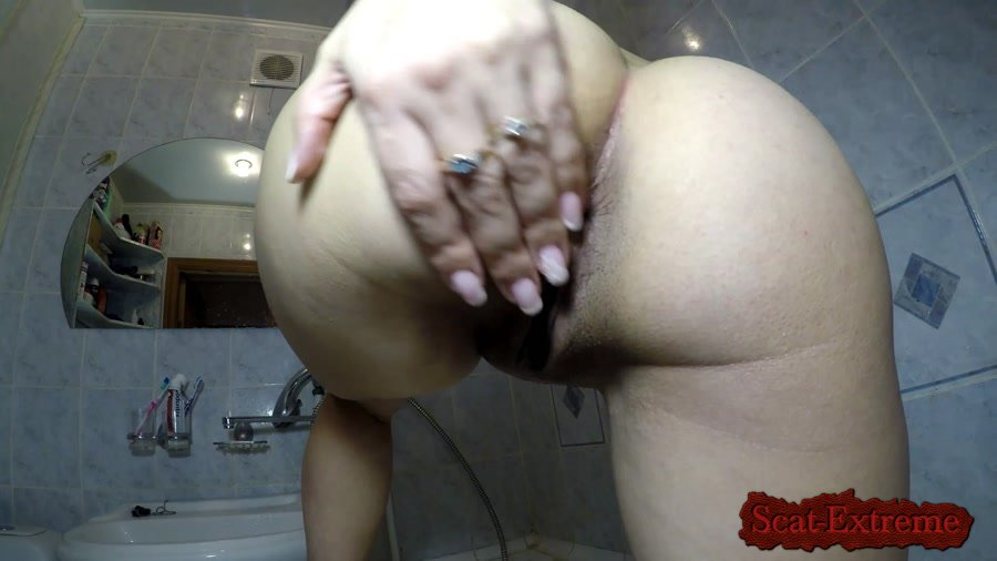 ElenaToilet FullHD 1080p Monster Shit Out Off My Ass [Solo, Shitting, Masturbation, Amateur]