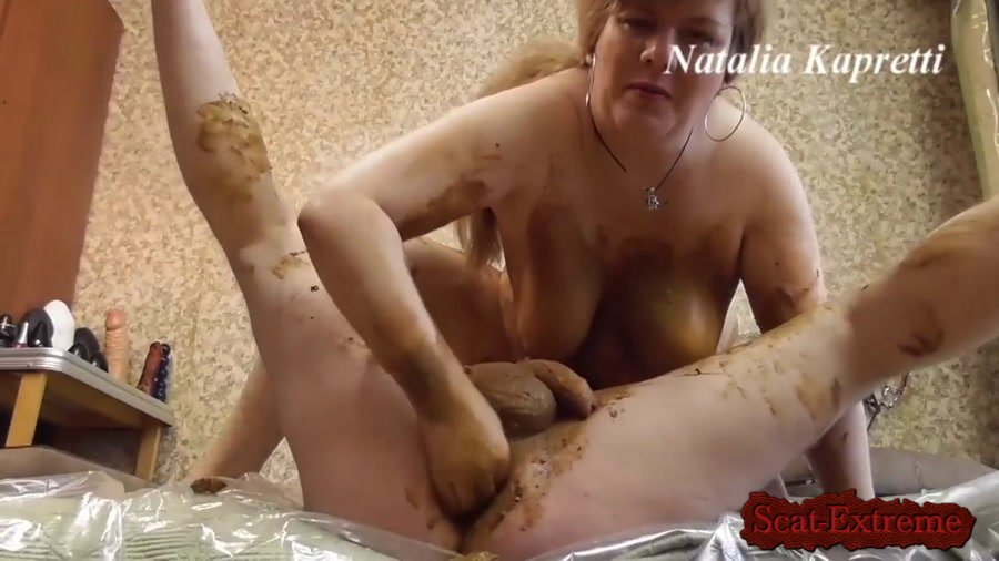 Amateur FullHD 1080p Scat sex in warm, soft, smelly shit [Femdom, Shitting, Fisting, Domination, Scat Porn]