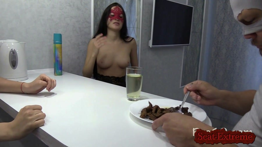 MilanaSmelly FullHD 1080p I love the taste of female shit! [Femdom, Humiliation, Face Sitting, Toilet Slavery]